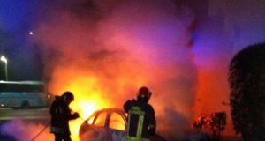 bruciata auto