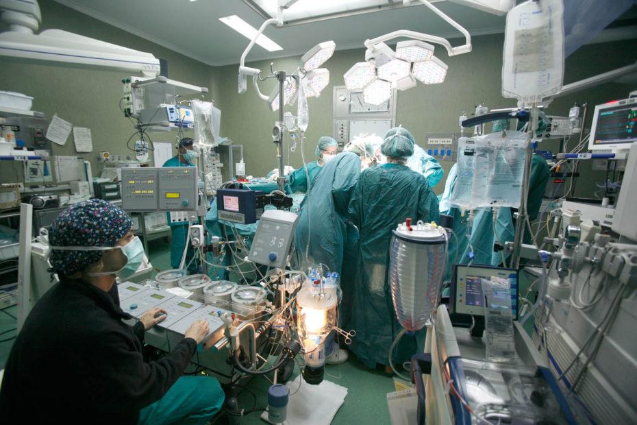 fisiopatologia cardiocircolatoria, perfusione cardiovascolare, cardiochirurgia, tecnici, sala operatoria