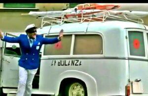 La mitica ambulanza-camper del ragionier Calboni (Fantozzi subisce ancora)