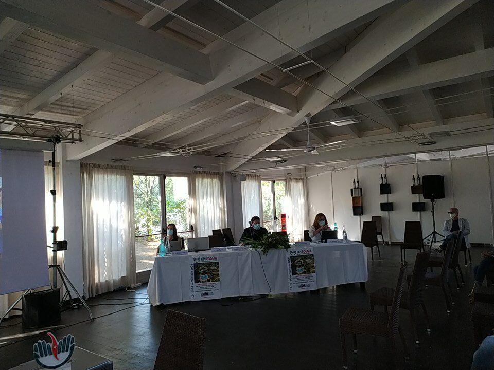 I relatori dell'evento odierno: Fabia Franchi, Luigi Pais dei Mori, Girolama De Gennaro.